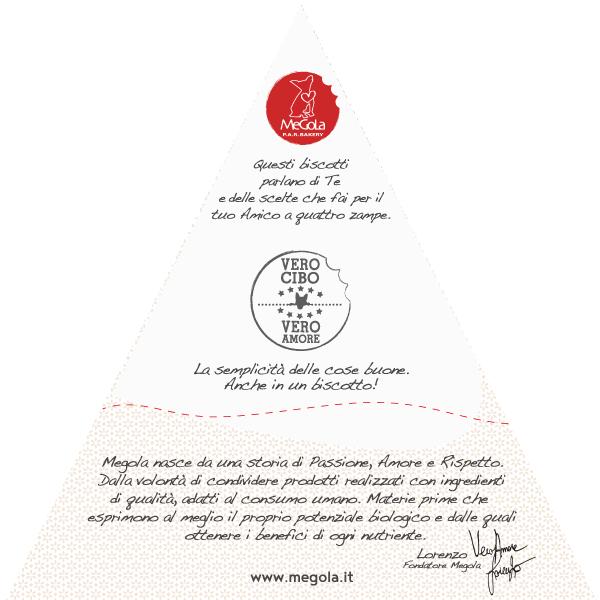 Megola ShareBisc Biscotti per Cani Ingredienti Naturali P.A.R.BAKERY Condividere Cane Uomo Ingredienti Vegano Vegani Bio - Le Nostre Promesse