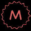Megola ShareBisc Biscotti per Cani Ingredienti Naturali P.A.R.BAKERY Condividere Cane Uomo Tracciato Biscotto M